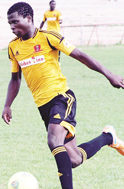 Edmore Chirambadare, Chicken Inn Football Club, Football