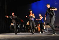The dancers of Jazz Tap Ensemble - HIFA 2012