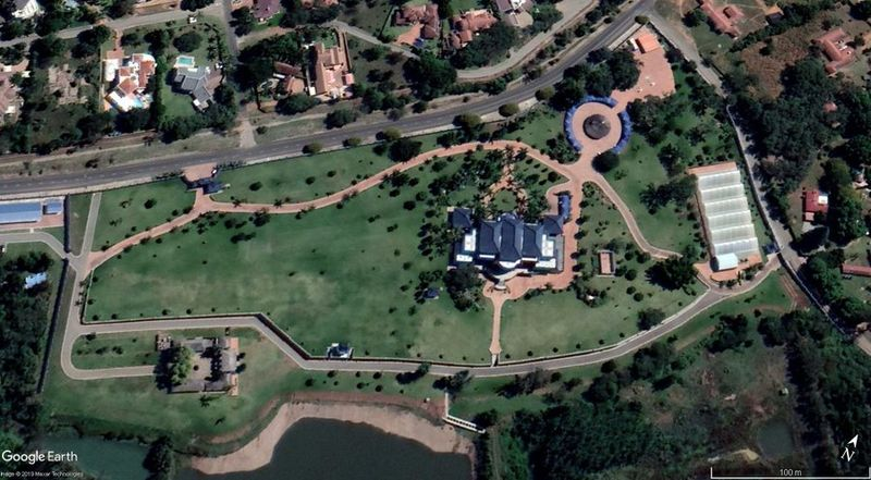 File:Aerial View Of Mugabe Blue Roof Mansion.jpg
