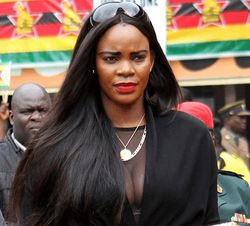 Marry Chiwenga,Former Miss Zimbabwe Trust Chairperson