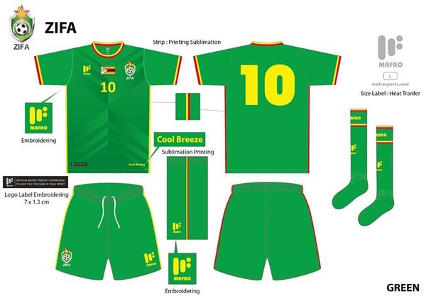 Warriors Green Kit