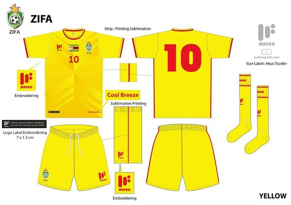 Warriors Yellow Kit